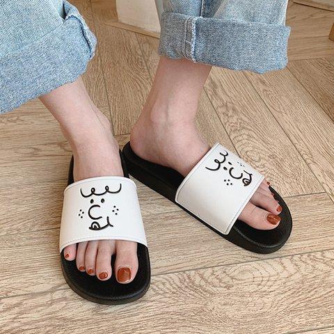 Women Slide All Season Pvc Casual Slippers