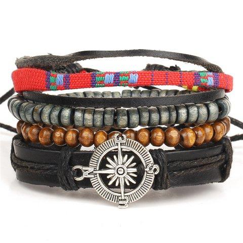Feather adjustable combination  Bracelets