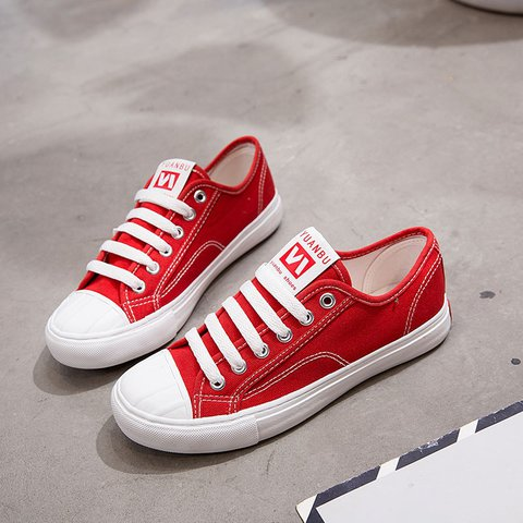 Canvas Daily Flat Heel Winter Sneakers