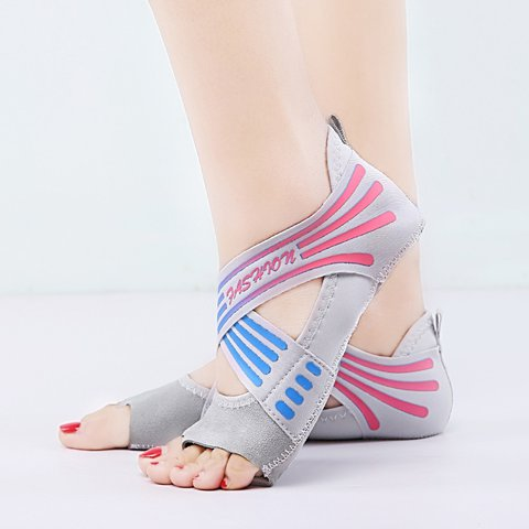 Yoga soft bottom non-slip beginners indoor adult five finger socks