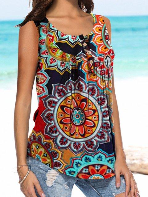 Women Summer Camisole Sleeveless Tank