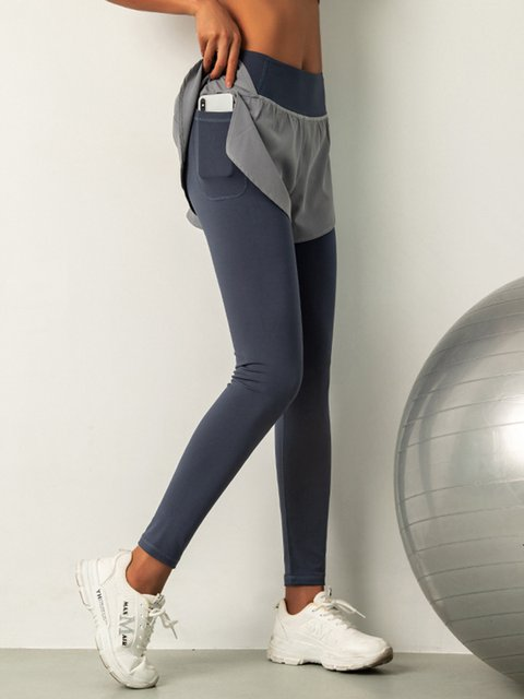 Women Yoga Pocket Pants Athletic Long Pants