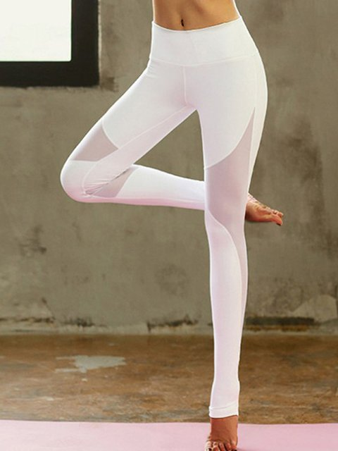 Women Yoga Solid Pants Sport Crop Pants