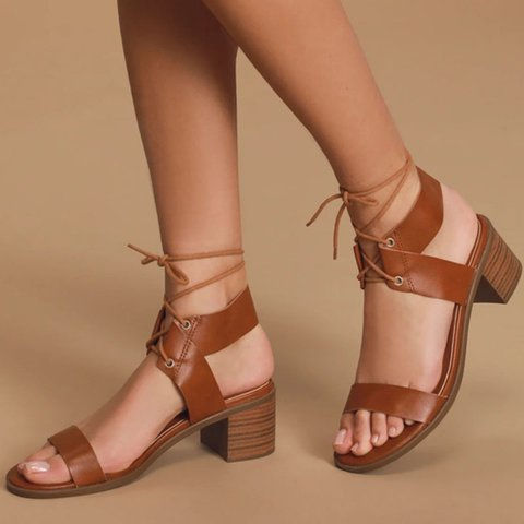 Tassel Seaside Block Heel Sandals