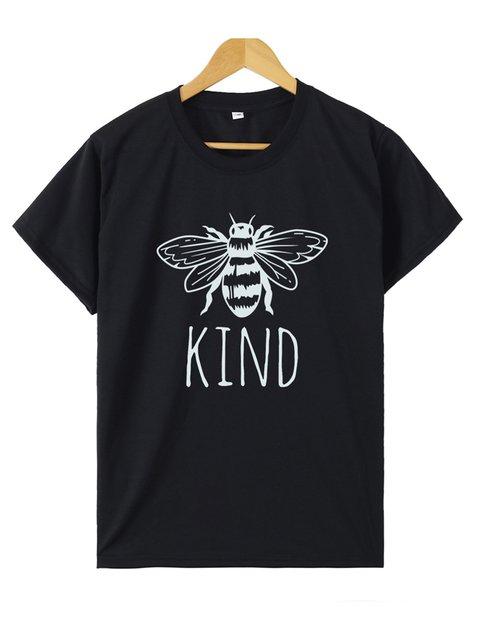 Bee Kind Short Sleeve Shirts & Tops