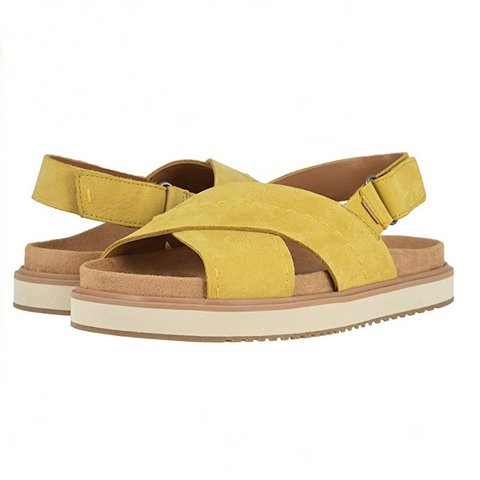 Summer Casual Magic Tape Flatform Sandals