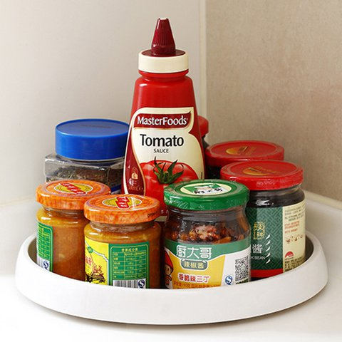 360 Degree Rotating Spice Tray Food & Beverage Carriers