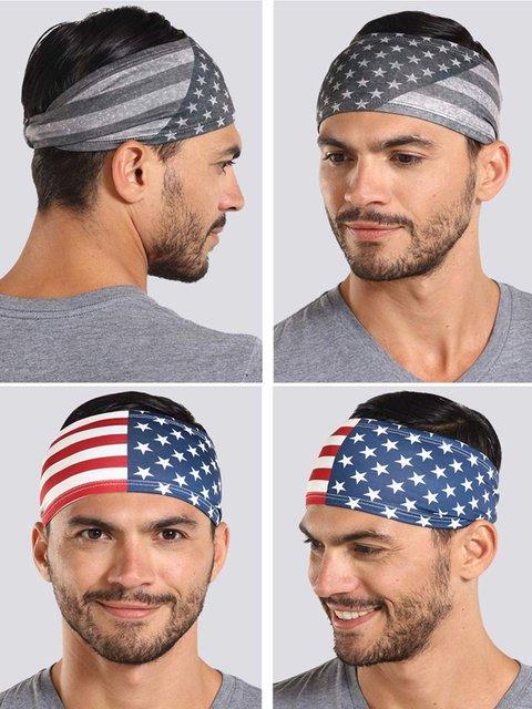 Workout Headband for Women Men Non slip Sweatband Stretchy Soft Elastic Sports Fitness Exercise Tennis Running Gym Dance Yoga