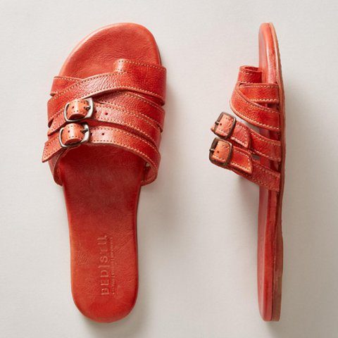 Thong Sandals PU All Season Daily Shoes