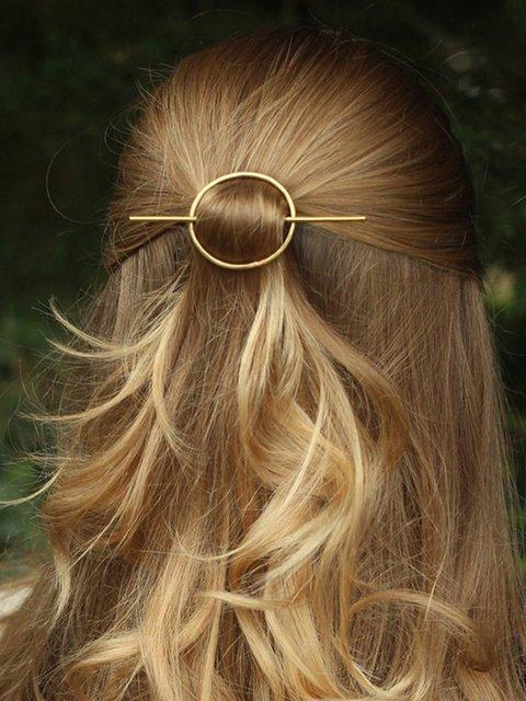 Women Casual Alloy Hairpin