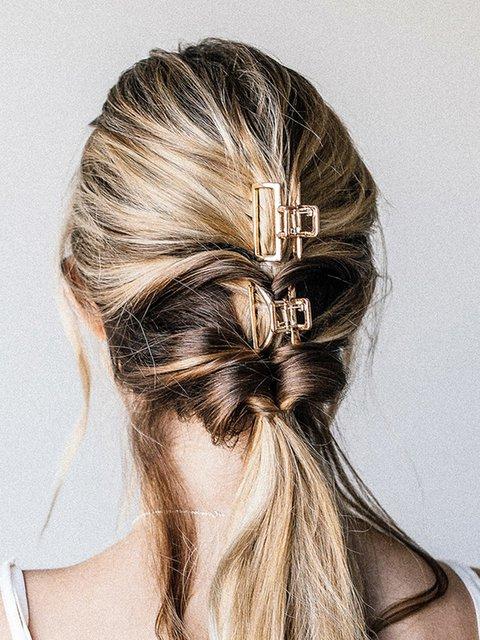 Women Alloy Hair Clip