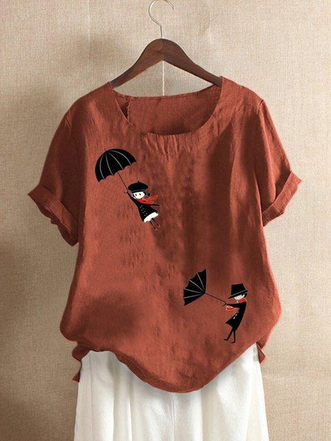 Casual Floral-Print Shirts & Tops