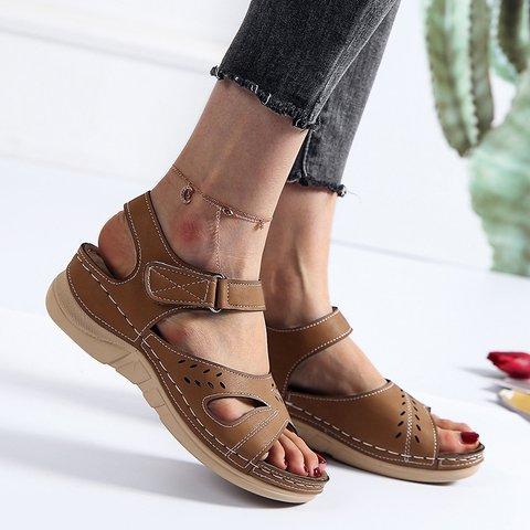 Women's Magic Tape Summer Daily Sandals