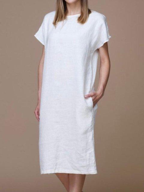 Linen dress. Summer dress. Linen clothing for women