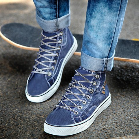 Lace-Up All Season Daily Sneakers