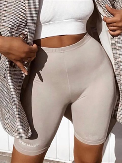 Hip Raise Fitness Shorts Stretch Skinny Leggings Yoga Pants