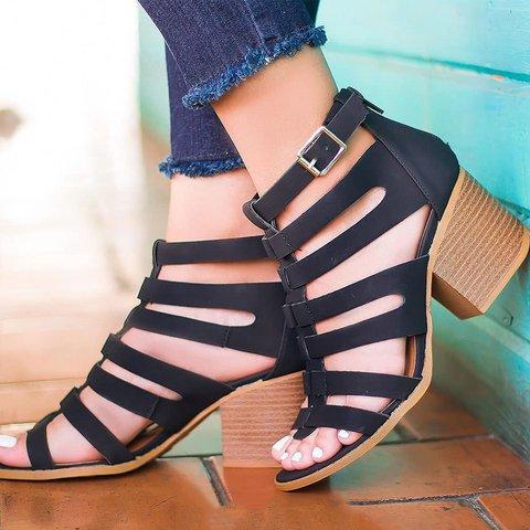 Women's Summer Elegant Slip-On Gladiator Sandals
