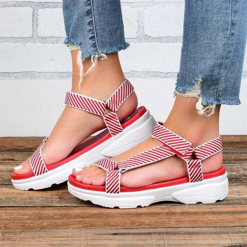 Women's Summer Daily Magic Tape Sandals