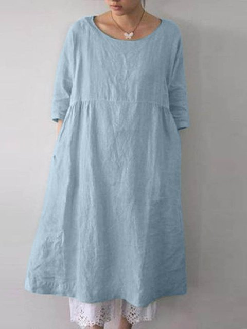 Casual Paneled Dresses