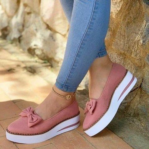 Bowknot All Season Loafers