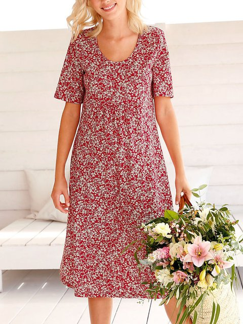 Dresses Daily Casual Floral Dresses