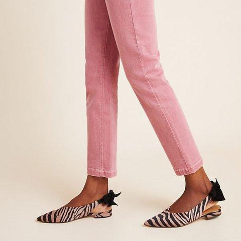 Date Elegant Bowknot Slip-On Flats