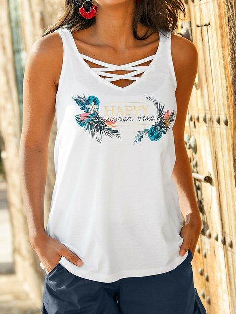 Summer Camisole Women Sleeveless Tanks