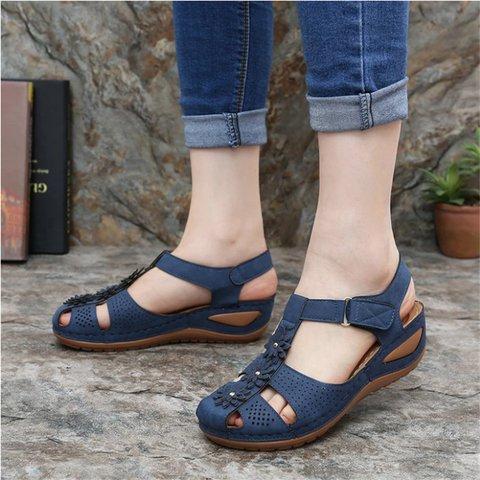 Casual Summer Flower Sandals