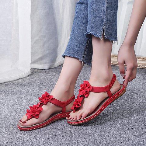 Flower Summer Sandals