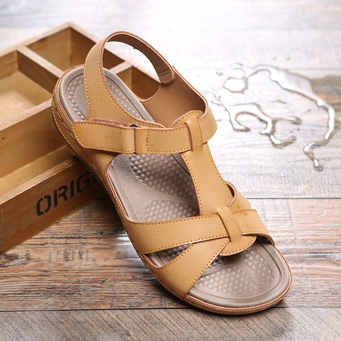 Women Comfy Slip-on Sandal Shoes