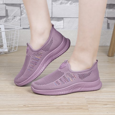 Daily Fly-Woven Fabric Summer Sneakers