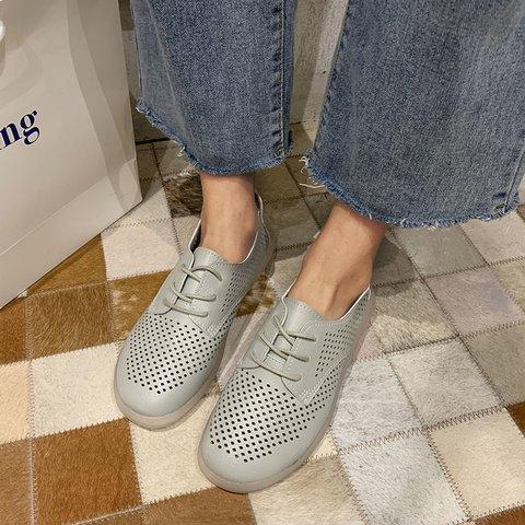 Sports Artificial Leather All Season Flat Heel Sneakers