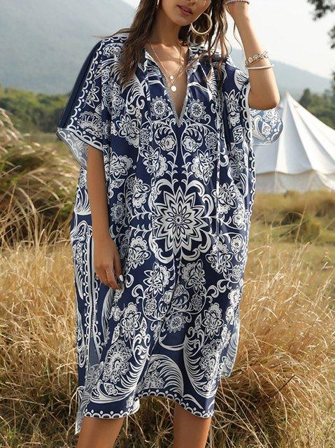 Boho Tribal Batwing Dresses