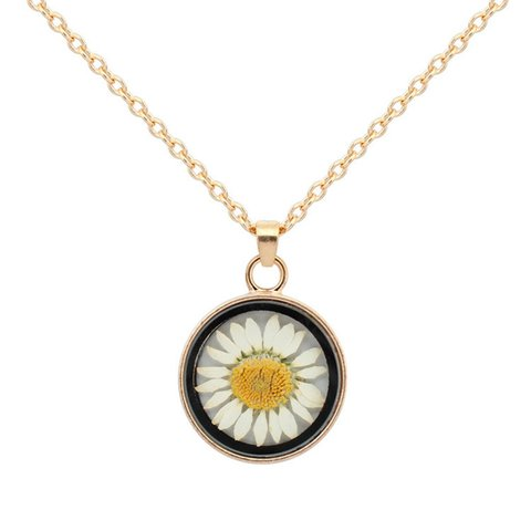 Flower Alloy Elegant Holiday Date Daily Necklaces