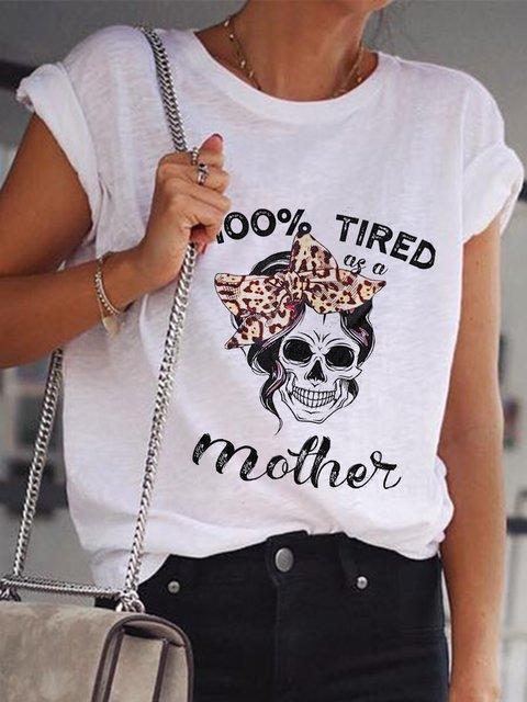 Casual Printed Short Sleeve T-Shirts