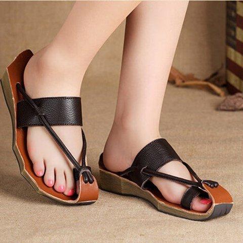 Women Unique Soft Leather Sandal