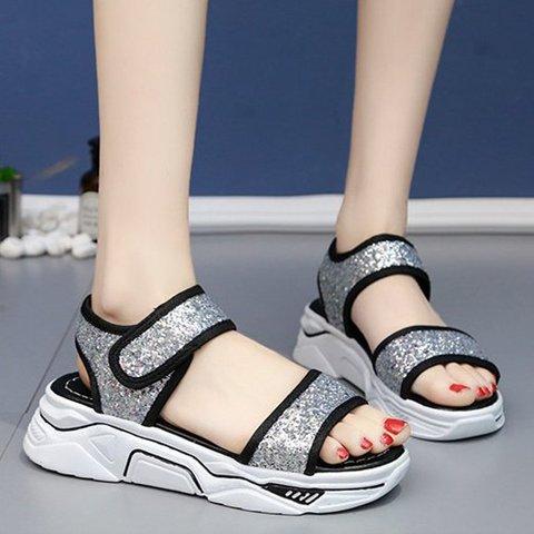 Sparkling Glitter Summer Sandals