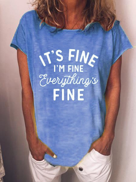 I am fine Shirts & Tops