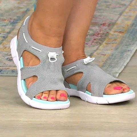 Summer Low Heel Sandals