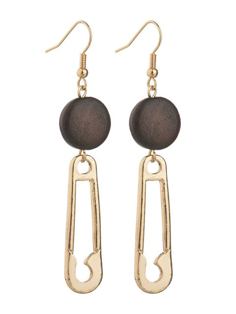Alloy Golden Women Stylish Earrings