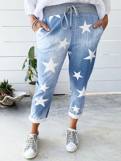 Blue Star Casual Denim Pants