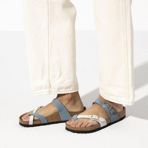 Buckle Flat Heel Slippers