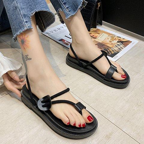Slip-On Flip-flops Flat Heel Comfy Sandals