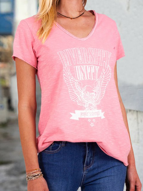Women Summer Letter Tee Short Sleeve T Shirts