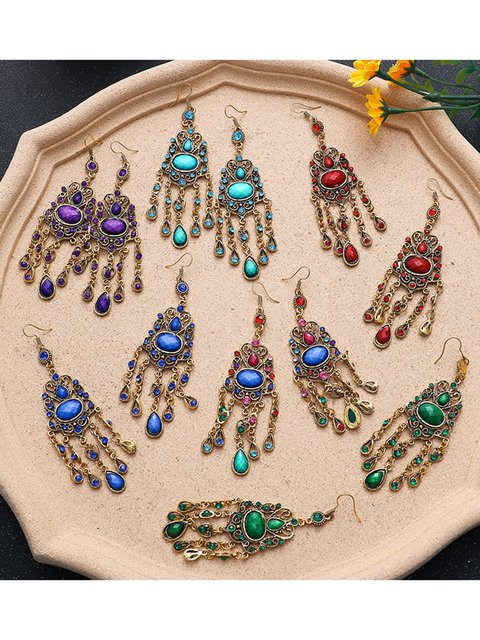 Women All Season Casual Fashion Vintage Alloy Earrings