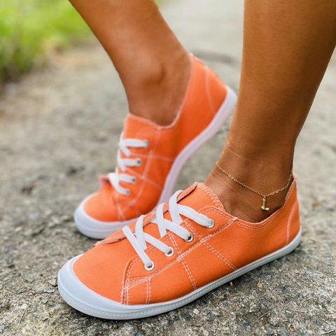 Women Comfy Slip-on Canvas Sneaker