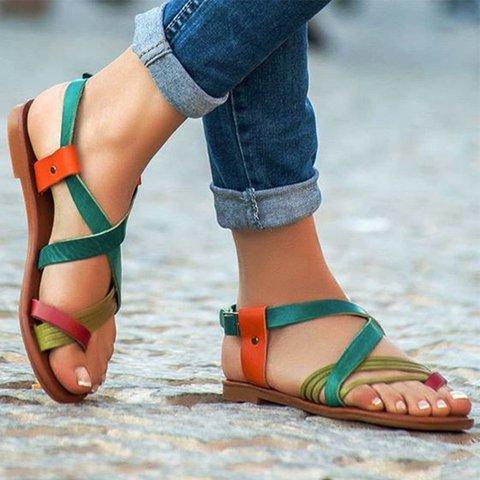 Flat Heel Summer Sandals