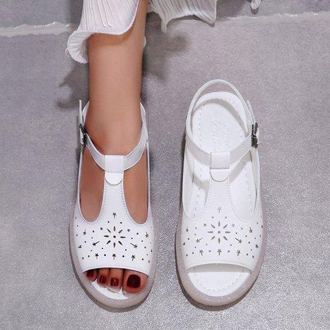 Summer Flat Heel Dress Sandals