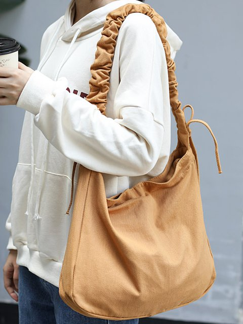 Women Handbags Zipper Shoulder Bags Large Capacity Tote Canvas Bags