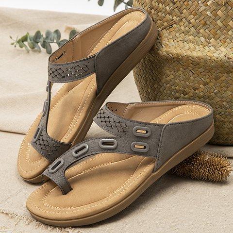 Rhinestone Summer Slippers
